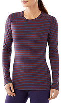 Smartwool NTS Mid 250 Striped Crewneck Lounge Knit Top