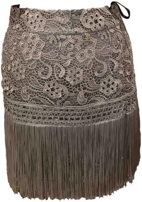Elisabetta Franchi Grey Skirt for Women
