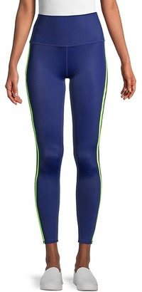 Wear It To Heart Double Striped Control-Top Leggings