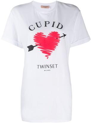 Twin-Set logo print T-shirt