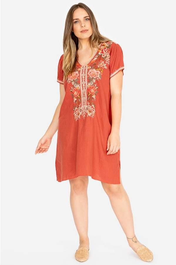 Plus Size Drape Dress - ShopStyle