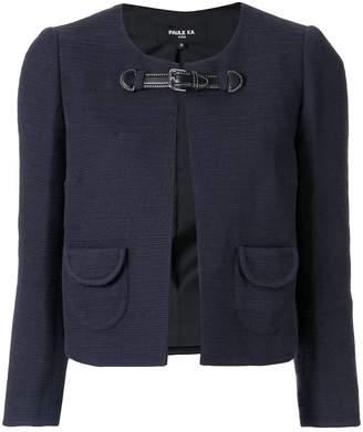 Paule Ka front buckle jacket