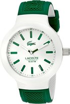 Lacoste Men's 2010816 BORNEO Analog Display Japanese Quartz Green Watch