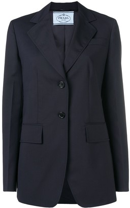 Prada Straight-Fit Blazer