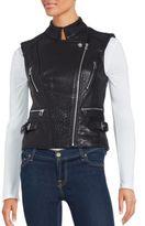 Dawn Levy Asymmetrical Zip-Up Vest