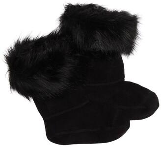 Hunter Faux Fur Cuff Boot Sock