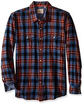 True Grit Men's Route 66 Cross Check Two-Pocket Western Shirt