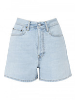 Acne Studios SWAMP LIGHT BLUE SHORTS
