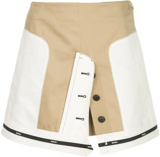Monse Panelled Mini Skirt