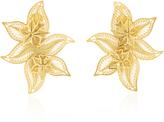 Mallarino Oriana Wild Orchid Stud Earrings