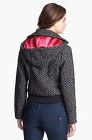 Dollhouse Hooded Herringbone Coat (Juniors) (Online Only)