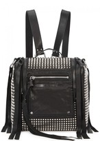 McQ Loveless Mini Studded Leather Backpack