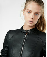 Express buckle collar (Minus the) leather jacket