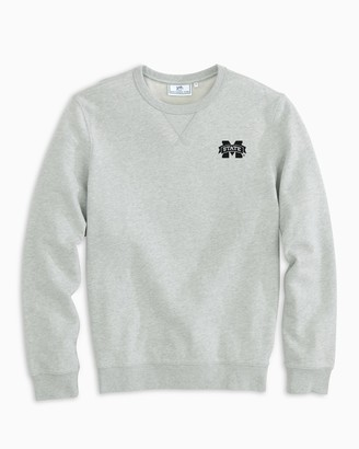 Southern Tide Mississippi State Upper Deck Pullover Sweater