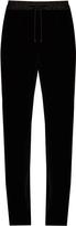 Elizabeth and James Collier straight-leg velvet trousers