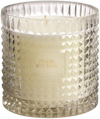 clear Bidk Home Bidkhome Hearth And Birch Etched Glass Scented Candle