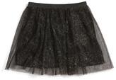 Ten Sixty Sherman Rainbow Glitter Skirt (Toddler Girls & Little Girls)