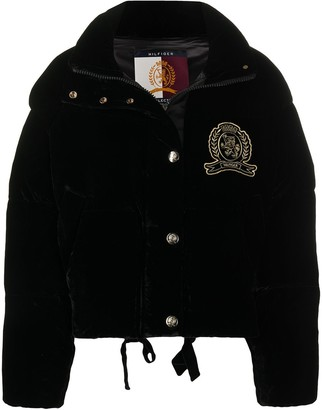 Tommy Hilfiger Embroidered Patch Puffer Jacket
