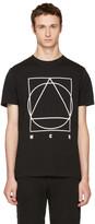 McQ by Alexander McQueen Black Glyph Logo T-shirt