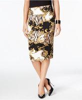 Thalia Sodi Thali Sodi Printed Pencil Skirt, Only at Macy's