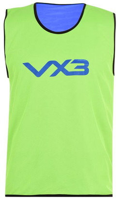 Vx 3 VX-3 10 Pack Reversible Mesh Hi Viz Training Bibs Youths