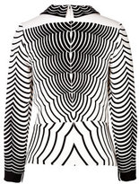 Marc by Marc Jacobs Radio Waves Print Top