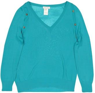 Celine Turquoise Viscose Knitwear