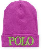 Ralph Lauren 7-16 Polo Knit Hat