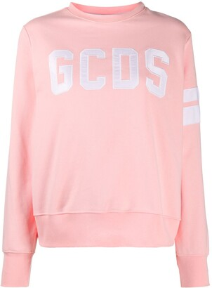 GCDS Long-Sleeve Logo Sweatshirt