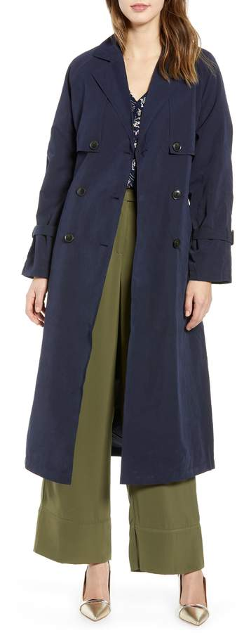 Vero Moda Valentine Long Trench Coat