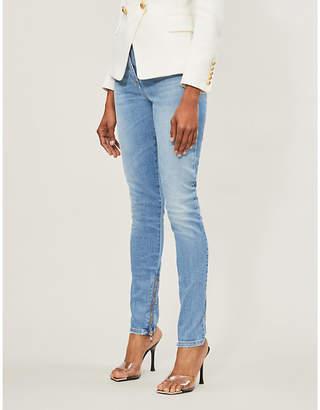 Balmain Skinny high-rise jeans