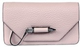 Mackage Zoey-C Dual Leather Mini Crossbody Bag In Blush