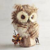 Pier 1 Imports Faux Fur Baby Owl