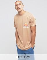 Ellesse T-Shirt With Curved Hem
