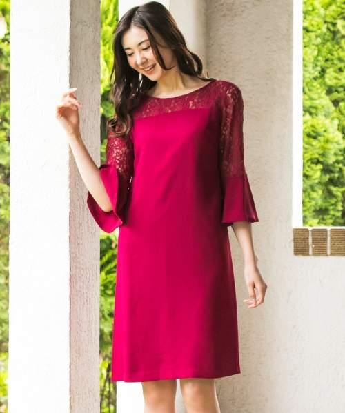9e8321432d236 レッド 結婚式ドレス - ShopStyle(ショップスタイル)