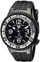 Swiss Legend Men's 21848P-BB-01-SA Neptune Dial Silicone Watch