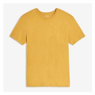 Joe Fresh Men's Essential Tee, Dark Yellow Mix (Size XL)