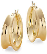 Lauren Ralph Lauren Contoured Hoop Earrings