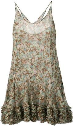 Stella McCartney Meadow Floral Silk Dress