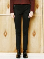 Wardrobe Zipper Leggings Pants_black