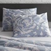CB2 set of 2 The Hill-Side giant floral print standard shams