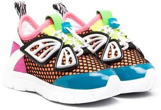 Sophia Webster Mini Funky Panelled Sneakers