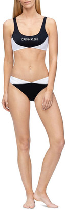Calvin Klein Blocking-S Swim Top KW00839_BEH