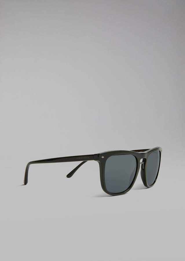 Giorgio Armani Sunglasses With Streaked Frame