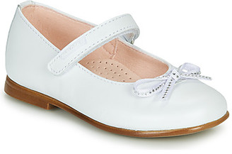 Pablosky Kids girls's Shoes (Pumps / Ballerinas) in White