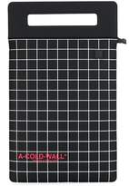 A-Cold-Wall* A Cold Wall* grid-print tablet bag
