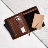Vida Vida Personalised Leather Document Holder/Organiser