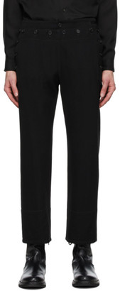 Ann Demeulemeester Black Sunseeker Trousers