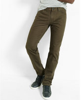 Express straight leg slim fit jeans