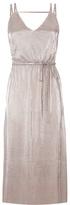 Oasis Plisse Midi Dress